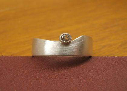 Workshop zilveren ring - Steen ijzer smeden ...