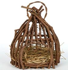 Hutje Nest Hout J-Line